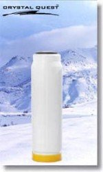 """Crystal Quest 2-7/8"""" X 9-3/4"""" Iron Filter Cartridge"""