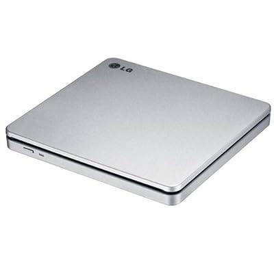 LG Electronics 8X USB 2.0 Super Multi Ultra Slim Slot Portable DVD+/-RW External Drive with M-DISC Support, (Silver ) GP70NS50