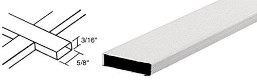 "Crl 3/16"" X 5/8"" White Muntin Bar - 12 Ft Long front-553226"
