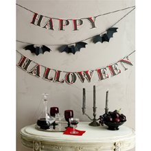 Martha Stewart Crafts Happy Halloween Bat Garland