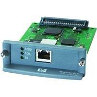 HP JetDirect 625n Gigabit Ethernet Print Server Serveur d'impression EIO Ethernet, Fast Ethernet, Gigabit Ethernet 10Base-T, 100Base-TX, 1000Base-T