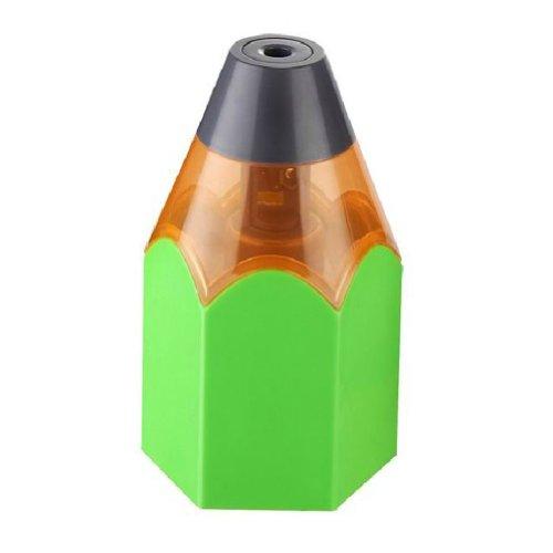 Pencil Stub Model Usb/Battery Auto Electric Pencil Sharpener (Green)