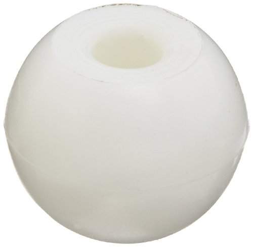 Molecular Models White Plastic Hydrogen Monovalent Atom Center, 17mm Diameter (Pack of 10)