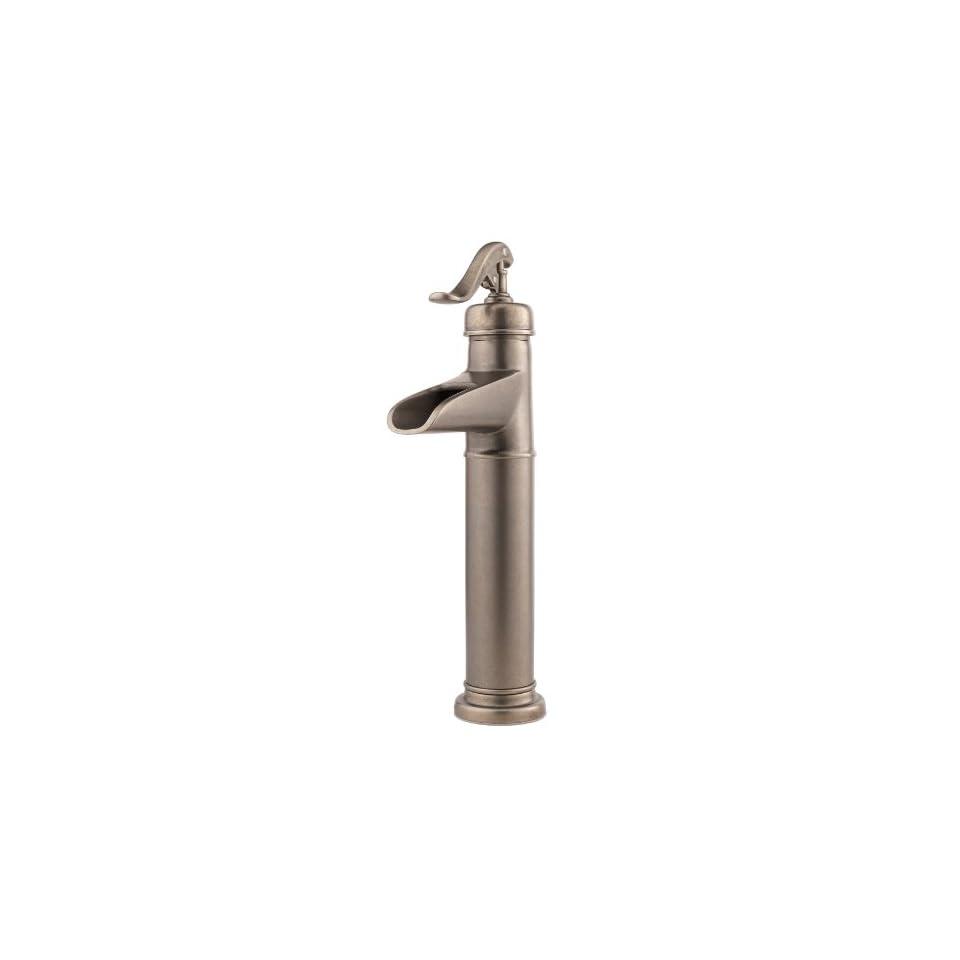 Price Pfister Ashfield Vessel Single Hole Bathroom Sink Faucet T40 YP0Y Tuscan B