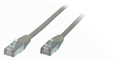 Câble PC de monde 30m 30m câble de réseau câble patch cat 6FTP PIMF Gris/STP sans halogène 250MHz 2x connecteurs RJ45Ethernet LAN câble de réseau 10Gigabit Twisted Pair