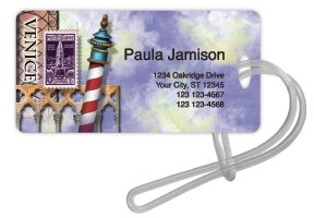 Checks In The Mail - Venice Luggage Tag