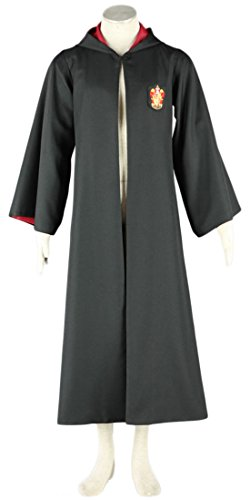 Going Coser Harry Potter Gryffindor Red Magic Robe Cosplay Costume