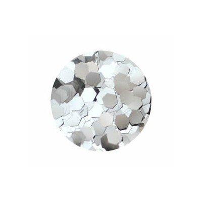 六角メタリック 2.5mm #581 シルバー 0.5g