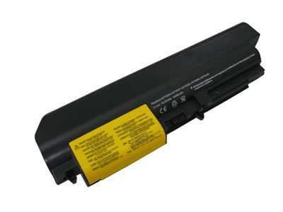 Non-oem Black IBM/Lenovo Laptop battery Compatible with Thinkpad R400, R61, R61i, T400, T61p & T61(not on target screen) 41U3197, 42T5225, 43R2499, 42T4530, 42T4531, 42T5227, 42T5229, 42t5230, 42T5262, 42t5263, 42T5264?? - 4800mAh