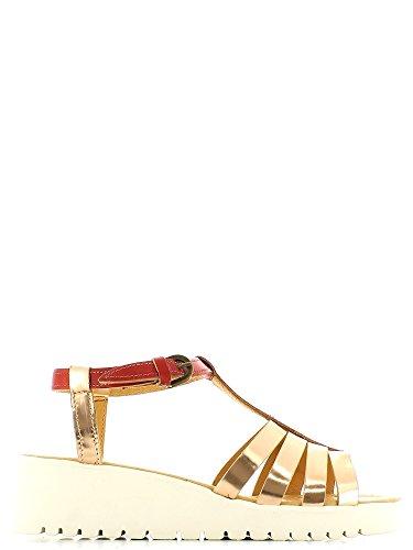 Marco ferretti 660073 Sandalo zeppa Donna Rose/red 37