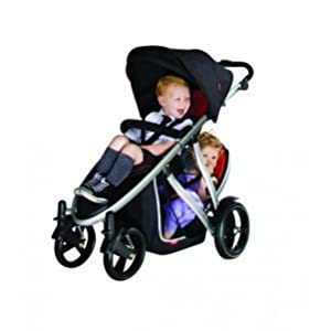 Phil And Teds Verve Double Kit Black from Phil & Teds