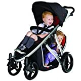 phil&teds Doubles Kit (Second Seat) for Verve Stroller (Black)