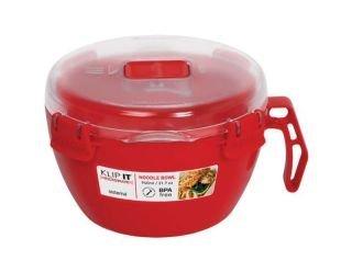 Sistema Red Microwave Noodle Bowl 875Ml
