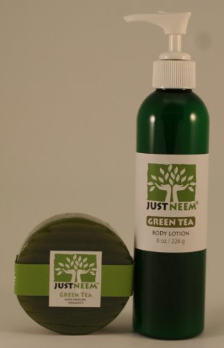 Neem Soap and Neem Body Lotion - Green Tea