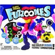 POOF-Slinky 0G4200250 Ideal Fuzzoodles Fluffy Friends Plush Construction Kit