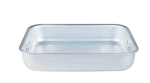 Agnelli autocuiseurs Pain lumineux rectangulaire avec 2 Poignées Aluminium d'une épaisseur de 5 mm 65 cm Argent