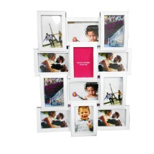 Portafoto multiplo da muro 12 foto fotografie moderno - Portafoto multipli da parete ...