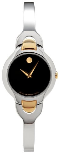 Movado Kara Women's Two Tone Quartz Watch 0605248