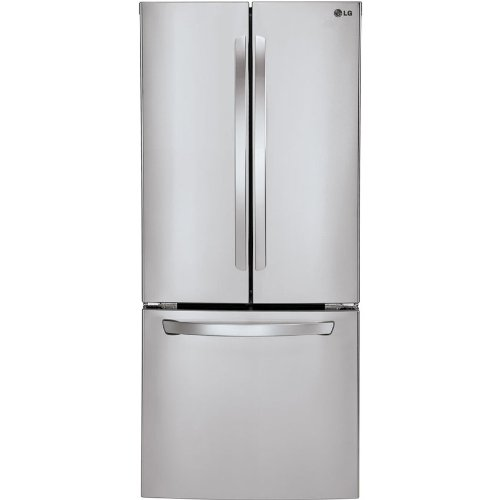 LG LFC22770ST French Door Refrigerator, 21.6 Cubic Feet, Stainless Steel (Smart Refridgerator compare prices)