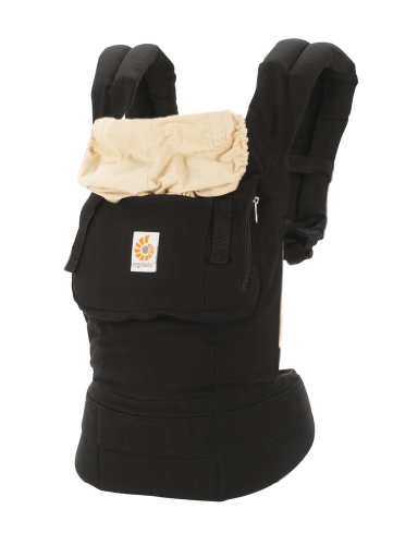 ERGObaby Original Baby Carrier, Black/Camel