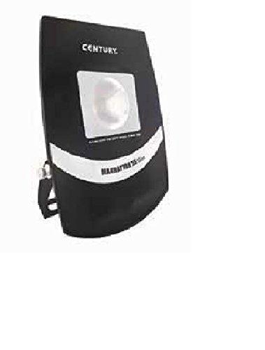 Century MAT-553830 Manhattan55 Slim Proiettore, 38° LED, 55 W, 3000 K, 3800 Lm, IP65, Alluminio, Nero