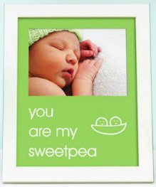 Pearhead - sentiment frame - you are my sweetpea - green - 70175