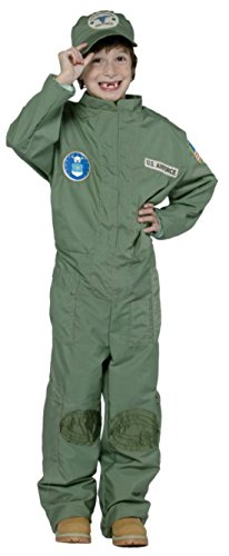 Boys Air Force Kids Child Fancy Dress Party Halloween Costume