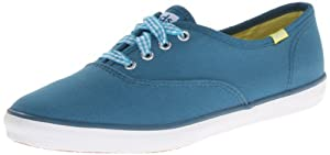 Keds Women's Champion Seasonal Solid Oxford,Bay Blue,10 M US