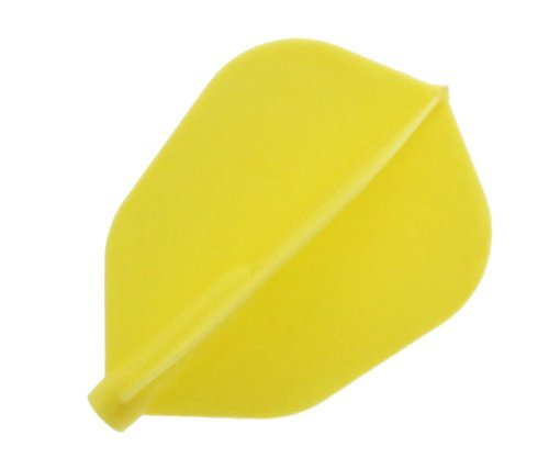 COSMO DARTS Fit Flight Super Shape Yellow (3 Pack)