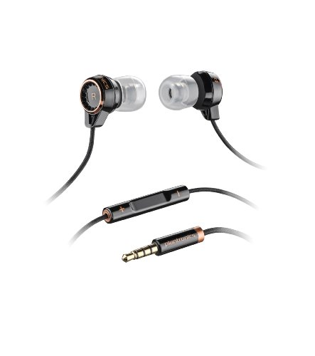 Plantronics Backbeat 216 Stereo Headphones With Mic - Black