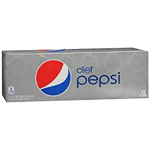 DIET PEPSI 12 PACK 12 OZ CANS