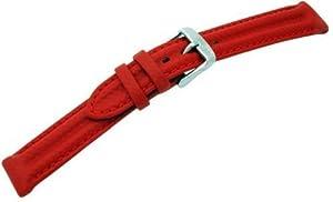 Morellato - A01U1617223083CR18 - Bracelet Homme - Cuir Rouge - Largeur : 18 millimètres