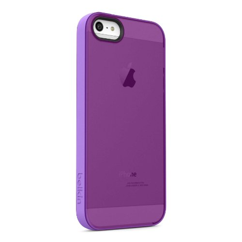 Belkin Grip Candy Sheer Case for iPhone 5 and 5S (Purple and Violet)