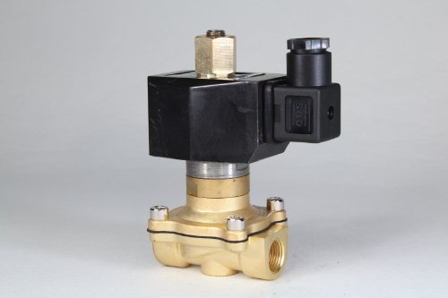 "1Pcs Dc 12V 3/8"" 2Way 2Position Electric Solenoid Valve Water Air Gas N/0 Gas Water Air 2W-10K Bsp Normal Open"