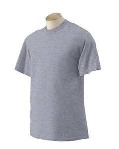 Gildan Tall 6.1 oz. Ultra Cotton Short-Sleeve T-Shirt - SPORT GREY - 2XT