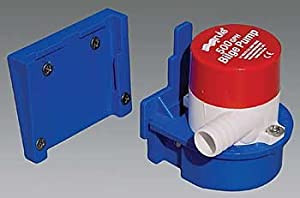 """Transom Mount Livewell Pump (500 Gph Discharge Size: 3/4\) By Rule Group, Inc."""""""