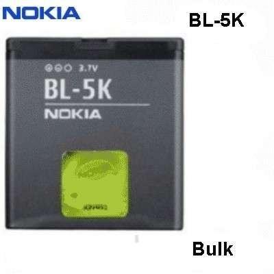 Nokia Battery Bl-5K 1200Mah Li-Ion For C7-00, N85, N86 8Mp, X7-00