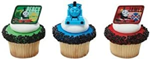 Thomas the Tank Engine and Friends Cupcake Rings - 24 ct