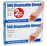 500 Disposable Gloves - 2/ 500 ct.
