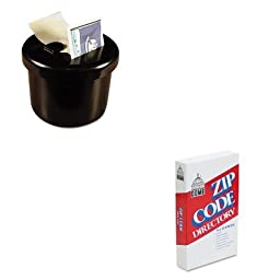 KITDOM5100LEE40100 - Value Kit - Dome Zip Code Directory (DOM5100) and Lee Ultimate Stamp Dispenser (LEE40100)