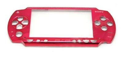 PSP Slim 2000 Replacement Faceplate Metallic Red