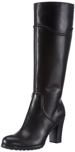 Geox D TRISH ST ABX Q, Stivali donna, Black - Schwarz (BLACK C9999), 39 (6 UK)