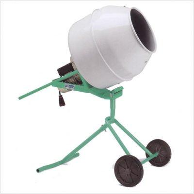 Minuteman II – Portable Electric Concrete Mixer