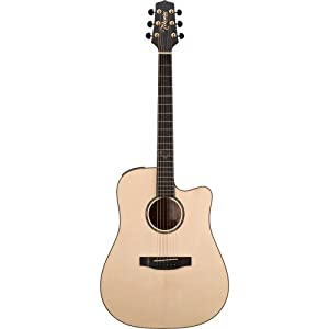Takamine G Series EG363SC Dreadnought Acoustic Electric Guitar, Natural