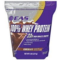 100% Whey Protein-EAS 5 LB. Resealable Bag- Chocolate from EAS