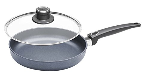 Woll Diamond Plus/Diamond Lite Induction Fry Pan with Lid, 9.5-Inch