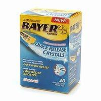 Bayer Aspirin, Quick Release Crystals 20 ea