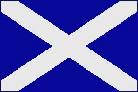 Scotland St. Andrews Cross Flag Polyester 3 ft. x 5 ft.