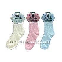 Earth Therapeutics Aloe Infused Socks Blue 1 pair
