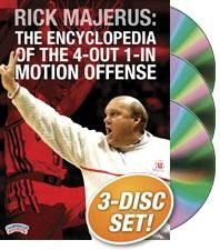 Rick Majerus: The Encyclopedia of the 4-Out 1-In Motion Offense (DVD) by Championship Productions